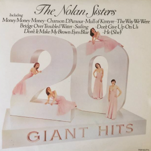 Nolan Sisters (‎The) - 20 Giant Hits (LP) (EX+/EX)